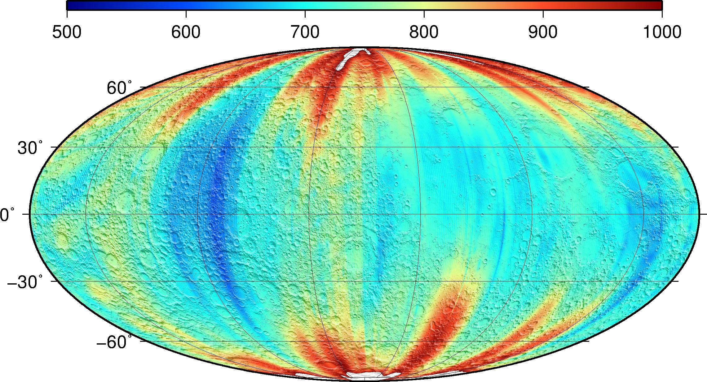 PGDA - Lunar Gravity Field: GRGM1200A