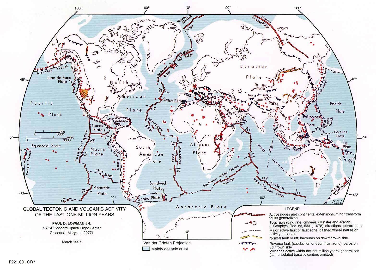 Mapping Plate Tectonics Worksheets Tectonic Plates Map